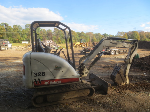 2005 Bobcat 328 G Mini Excavator used for sale