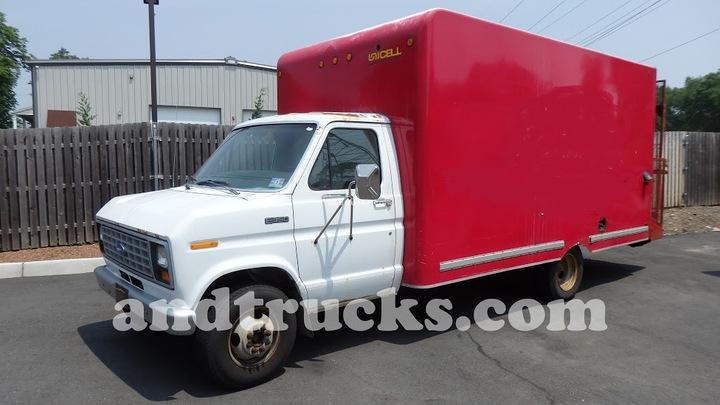 ford e350 box truck. Black Bedroom Furniture Sets. Home Design Ideas