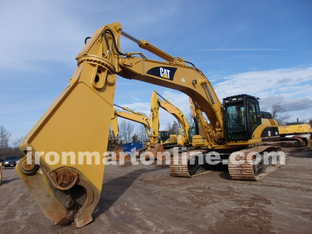 Used Cat 330 Dl With Demolition Genesis Gxp660r Shear