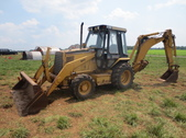 Cat 416B Backhoe Loader