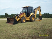 Cat Backhoe 420 E 2007 Like New