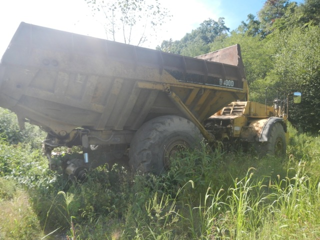 1993 Cat D40D Haul Truck