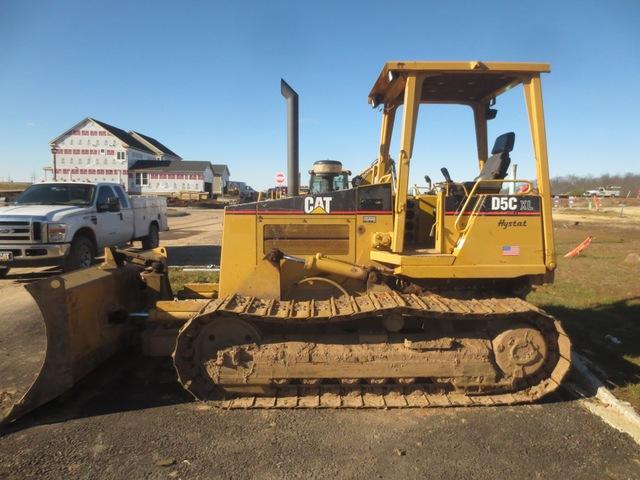 Caterpillar D5C XL III Hystat Dozer used for sale