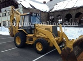 Caterpillar 446B Backhoe Loader