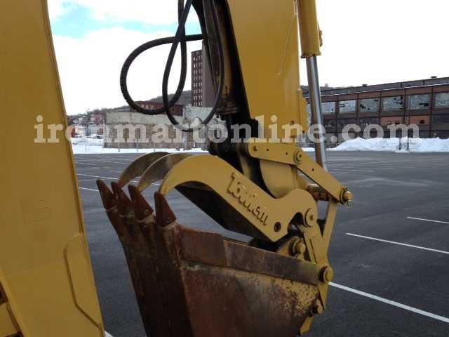 4x4 Caterpillar 446b Backhoe Loader With Hydraulic Thumb
