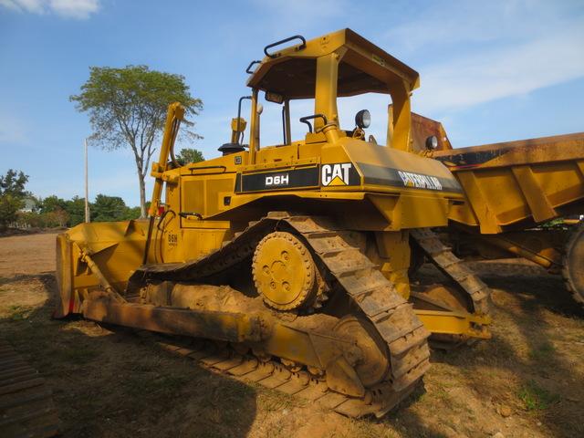d6h caterpillar dozer serial number