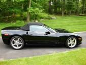 Corvette Convertible 2007 Black on Black