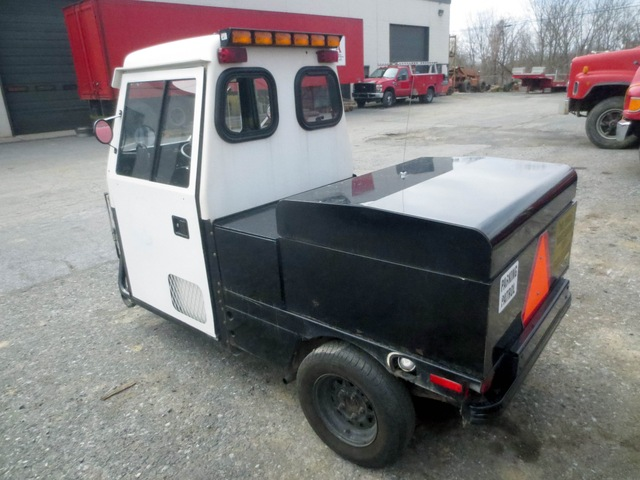 cushman haulster 3 wheel utility vehicle used for sale. Black Bedroom Furniture Sets. Home Design Ideas