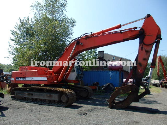 Daewoo solar SL400LC-III 86,000lb excavator with grapple