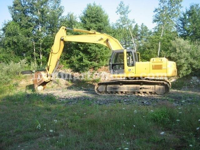 John Deere 270C LC Excavator Specs