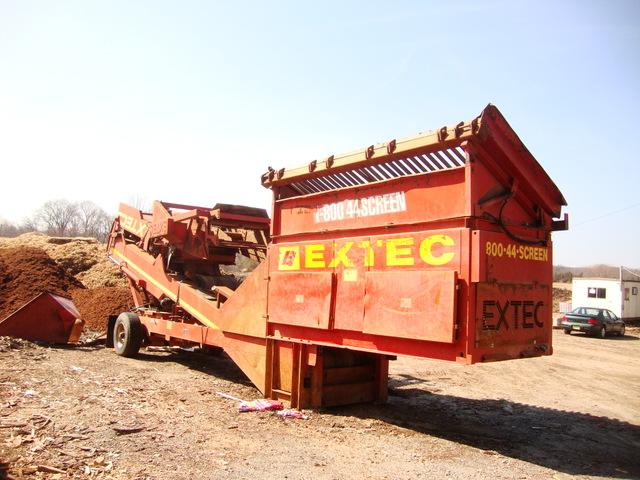Soil Screener For Sale  Extec 6000S
