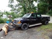 F-350 4 Door Plow Truck