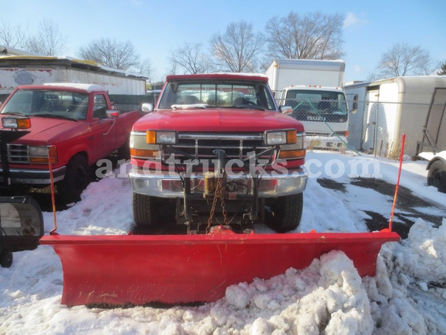 1994 ford f350 xlt 4x4 with plow used for sale ford f series plow