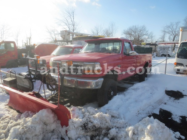 1994 Ford F350 XLT 4x4 With Plow