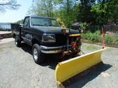 F-350 XLT 4x4 Plow Utility Truck Turbo