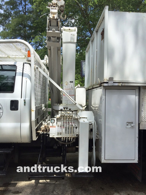 2001 F-750 Knuckle Boom 14ft Chip Truck for sale