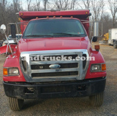 F-750 Single Axle Dump Truck