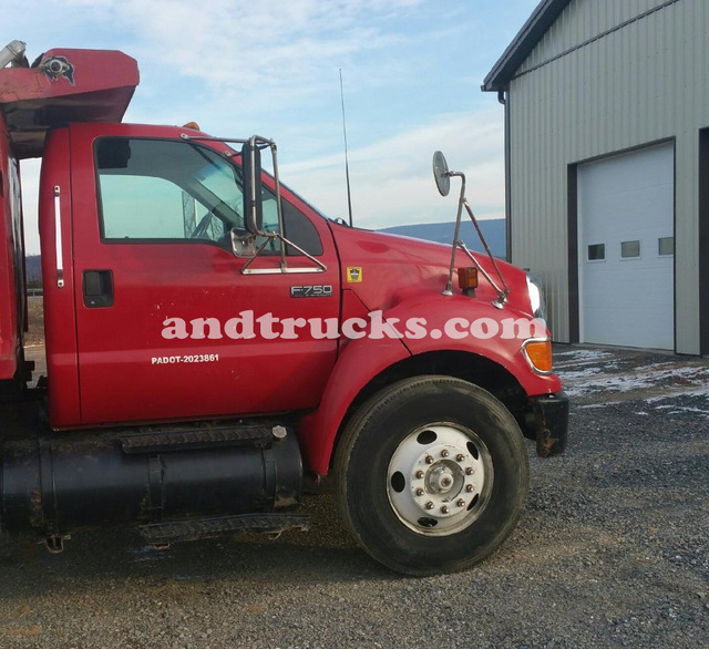 F-750 Single Axle Ford Dump Truck