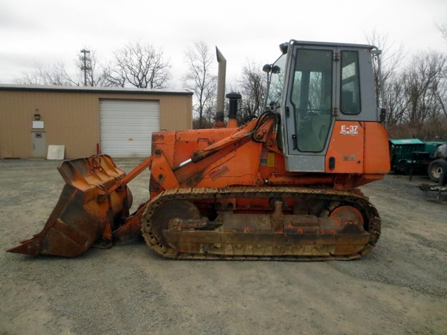 Track Loader For Sale >> Fiat Hitachi Fl 175 Track Loader Used For Sale