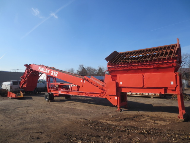Terex Finlay 312C Mobile Screening Plant