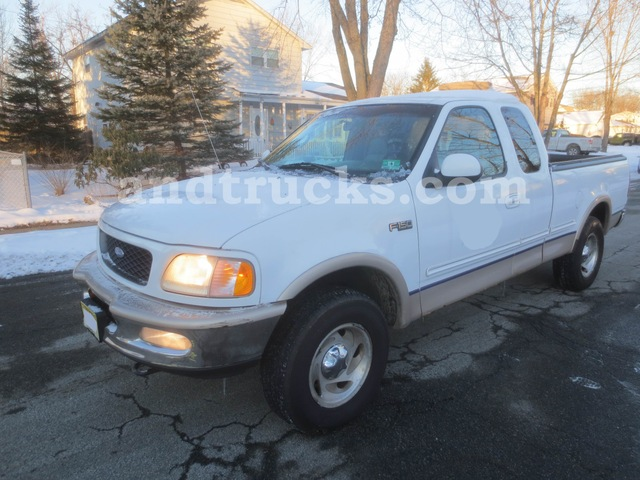 1997 Ford F150 Lariat 4x4 Pickup Truck Used For Sale