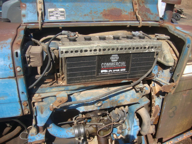 Ford 3000 Diesel Tractor Grill : Ford tractor brush guard