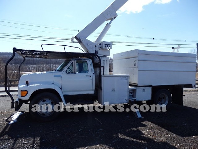 1998 ford f series forestry bucket truck. Black Bedroom Furniture Sets. Home Design Ideas