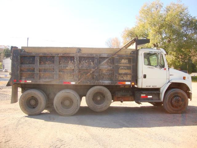 Tri Axle Dump Truck FL 106