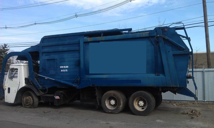 Trash Trucks For Sale >> Heil Front Loader Garbage Truck Body