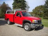 GMC 2500 HD Utility Truck 2006