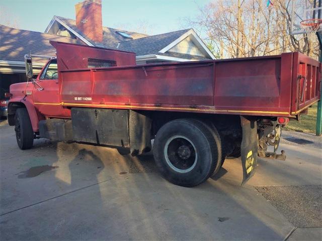1976 GMC Sierra 6500 Dump Truck