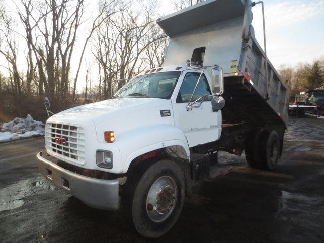 Gmc Topkick Single Axle Dump Non Cdl Used For Sale