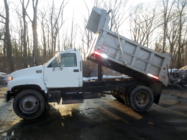 GMC Topkick Single Axle Dump Non-CDL