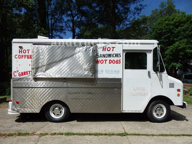 GMC Grumman Lunch Truck/Hot Dog Truck