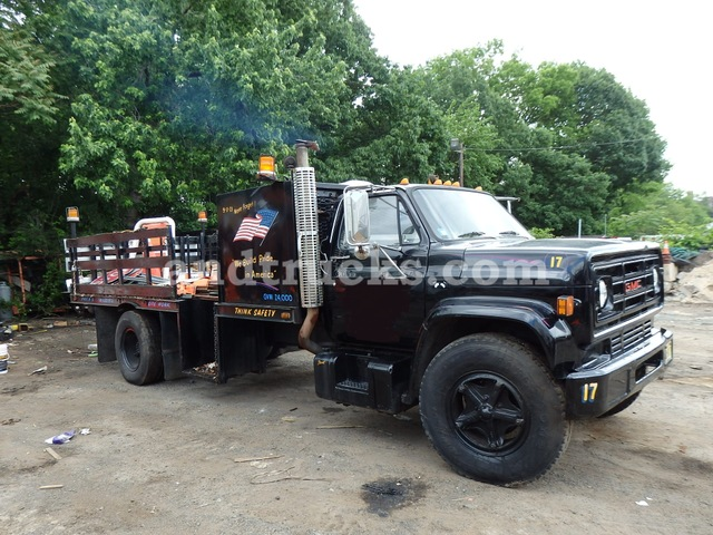 1988 GMC Topkick Safety Truck used for sale, ironmartonline