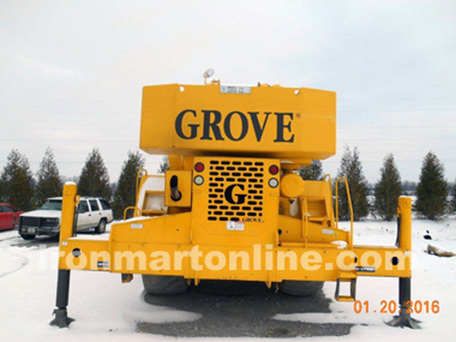 1998 Grove RT855B Heavy Duty 55-Ton Rough Terrain Crane
