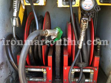 1994 International Model 2654 Fuel Lube Truck