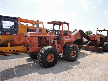 Ditch Witch Rock Saw and Trencher