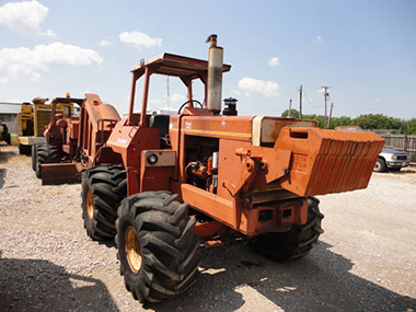 Ditch Witch Rock Saw and Trencher used for sale