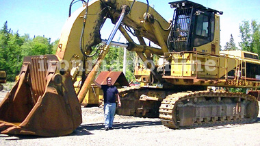 1999 Caterpillar 5080 Front Shovel