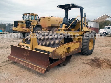 Sheepsfoot Compactor Padfoot Compactor Used Soil