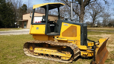 2008 John Deere 450J LGP Crawler Loader