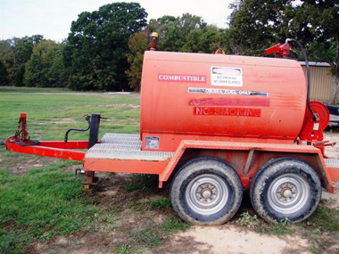 500 Gallon Fuel Tank >> 500 Gallon Trailer Mounted Diesel Fuel Tank Used For Sale