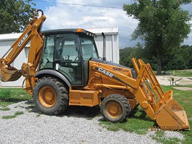 Case 580 Super M II Loader Backhoe used for sale