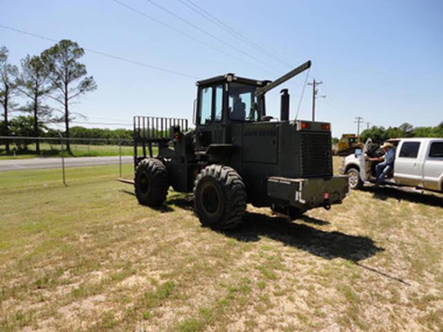 John Deere 544E Forklift