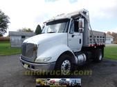 International 8600 Single Axle Dump