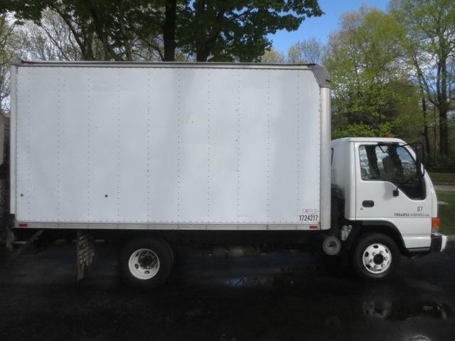 Isuzu NPR 14 Foot Box Truck used for sale