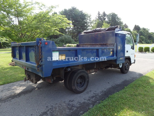 1999 Isuzu NPR Cabover Dump Truck used for sale