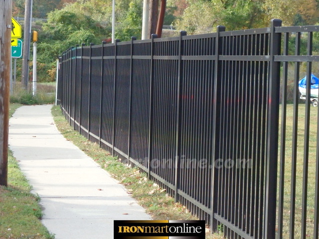 360 Feet of High Quality Aluminum Fencing by Jerith