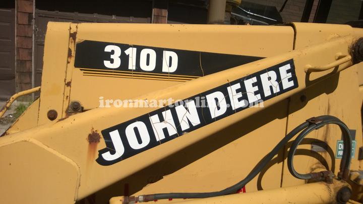 John Deere 310D 2wd Backhoe